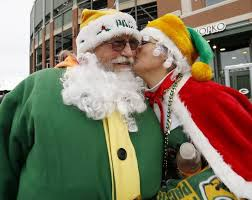 Has Aaron Rodgers been naughty or nice?